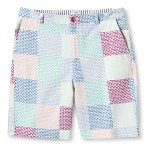 NWT Vineyard Vines Patchwork Whale Shorts Size 30